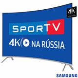 """Smart TV 4K Samsung Curva LED 55"""" com Smart Tizen e Wi-Fi - UN55MU7500GXZD"""