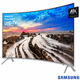 "Smart TV 4K Samsung Curva LED 55"" com Smart Tizen e Wi-Fi - UN55MU7500GXZD"