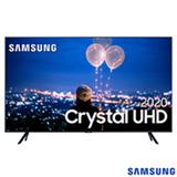 Samsung Smart TV Crystal UHD TU8000 4K 55', Borda Infinita, Alexa built in, Controle Único, Visual Livre de Cabos