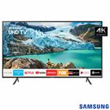 "Smart TV 4K Samsung LED 58"" com Visual Livre de Cabos, HDR Premium, Controle Remoto Único e Wi-Fi - UN58RU7100GXZD"