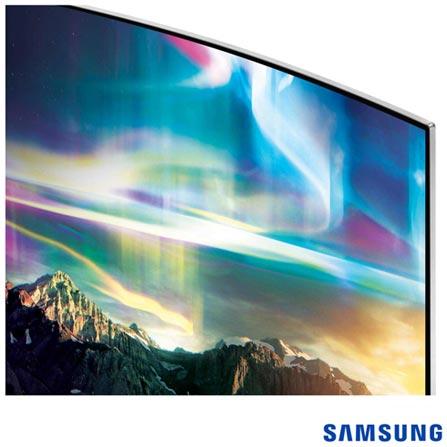 """Smart TV SUHD 4K Samsung Curva LED 65"""" com Pontos Quânticos, Quad-Core, 240 Hz Motion Rate e Wi-Fi - UN65KS7500GXZD, Bivolt, Bivolt, Não se aplica, Não, 120Hz (Motion Rate 240Hz), 12 meses, 4K / UHD, Sim, De 50'' a 65'', 65'', LED com Pontos Quânticos"""