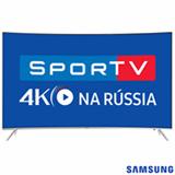 "Smart TV SUHD 4K Samsung Curva LED 65"" com Pontos Quânticos, Quad-Core, 240 Hz Motion Rate e Wi-Fi - UN65KS7500GXZD"