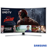Smart TV 4K Samsung Curva LED 65 com HDR Premium, 120 Hz Motion Rate e Wi-Fi - UN65KU6500GXZD