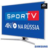 "Smart TV 4K Samsung LED 65"" com Processador Quad Core, Connect Share™, Digital Clean View e Wi-Fi - UN65MU6400GXZD"