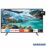 Smart TV Samsung UHD 4K RU7100 65', Visual Livre de Cabos, Controle Remoto Único e Bluetooth - UN65RU7100GXZD