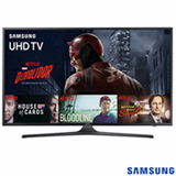 "Smart TV 4K Samsung LED 70"" com HDR Premium, 120 Hz Motion Rate e Wi-Fi - UN70KU6000GXZD"