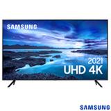 Samsung Smart TV UHD 4K 75' com Processador Crystal 4K, Controle Único, Alexa Built in e Wi-Fi - 75AU7700