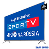 "Smart TV 4K Samsung LED 75"" HDR 1000, Dynamic Crystal Color e Wi-Fi - UN75MU7000GXZD"