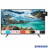 Smart TV Samsung UHD 4K RU7100 75', Visual Livre de Cabos, Controle Remoto Único e Bluetooth - UN75RU7100GXZD