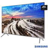 "Smart TV 4K LED Samsung 82"" com HDR1000, Plataforma Smart Tizen e Wi-Fi - UN82MU7000GXZD"