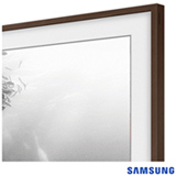 """Moldura Samsung 55"""" para the Frame TV LS003 Madeira - VG-SCFM55DW/RU"""