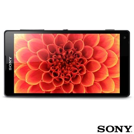 Blu-ray Player 3D Sony BDPS590 3D com Wi-Fi + Smartphone Sony Xperia ZQ Preto, 0, Blu-ray Player, Sim, 1 ano