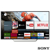 "Smart TV 4K Sony LED 55"" Motionflow XR 240, 4K HDR, UpScalling e Wi-Fi - KD-55X7005D"