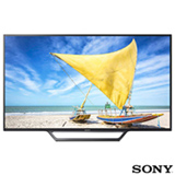 "Smart TV Sony LED HD 32"" com Motionflow XR 240, X-Reality Pro, XProtection PRO e Wi-Fi - KDL-32W655D"