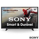 "Smart TV Sony LED HD 32"" com Motionflow XR 240, X-Reality Pro, XProtection PRO e Wi-Fi - KDL-32W655D"