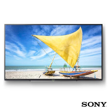 "Smart TV Sony LED Full HD 48"" com Motionflow XR 240, X-Reality Pro, XProtection PRO e Wi-Fi - KDL-48W655D, Bivolt, Bivolt, Não se aplica, Não, 240 Hz, 12 meses, Full HD, Sim, De 40'' a 49'', 48'', LED"