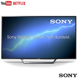 "Smart TV Sony LED Full HD 48"" com Motionflow XR 240, X-Reality Pro, XProtection PRO e Wi-Fi - KDL-48W655D"