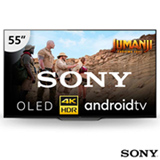 """Smart TV 4K Sony OLED 55"""" Android TV, Acoustic Surface, Motionflow XR, Triluminos, 4K X-Reality Pro e Wi-Fi - XBR-55A8F"""