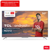 Smart TV TCL LED Ultra HD 4K 50' Android TV com Google Assistant, Bordas Ultrafinas e Wi-Fi - 50P715