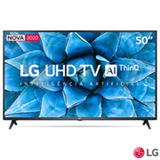 Smart TV LG 50' 4K UHD 50UN7310 WiFi Bluetooth HDR Inteligência Artificial ThinQ Smart Magic Google Alexa