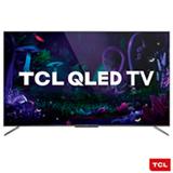 "Smart TV TCL QLED Ultra HD 4K 55"" Android TV com com Google Assistant, Design sem Bordas e Wi-Fi - QL55C715"