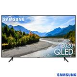 Samsung Smart TV QLED 4K Q60T 50', Pontos Quânticos, Borda Infinita, Alexa built in, Modo Ambiente Foto, Controle Único