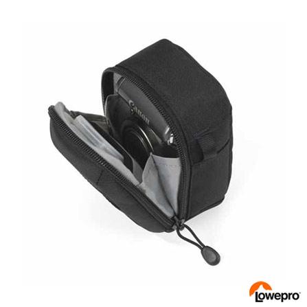 Estojo Lowepro para Câmera Compacta Digital ou de 35 mm Compacta Preto - LP36156, Bivolt, Bivolt