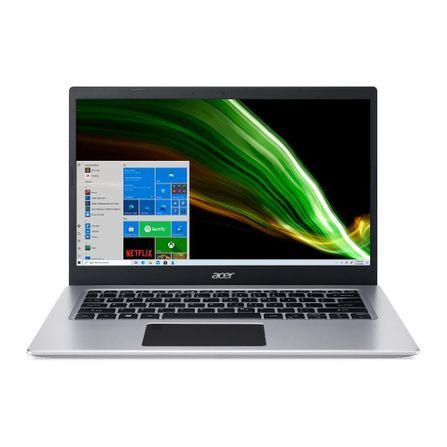 "Notebook - Acer A514-53-5239 I5-1035g1 1.00ghz 4gb 256gb Ssd Intel Hd Graphics Windows 10 Home Aspire 5 14"" Polegadas"