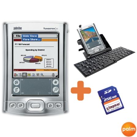 Palm Tungsten E2 + Teclado Sem Fio + Cartão SD 256MB - Palm - TE2_TECLADO