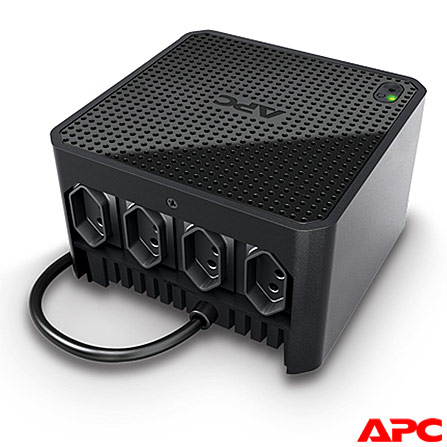 Estabilizador APC-Microsol CUBIC500-BR 500VA 110V com 4 Tomadas