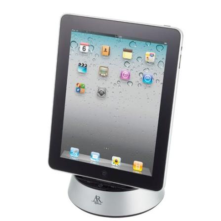 Dock Station Acoustic Research Ars13 Compatível com iPhone 4 e iPad 2, Reproduz e Recarrega o iPad, iPhone ou iPod Touch