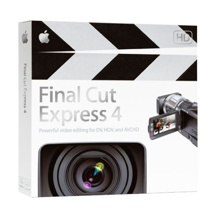 Software Final Cut Express 4.0 Retail - Apple