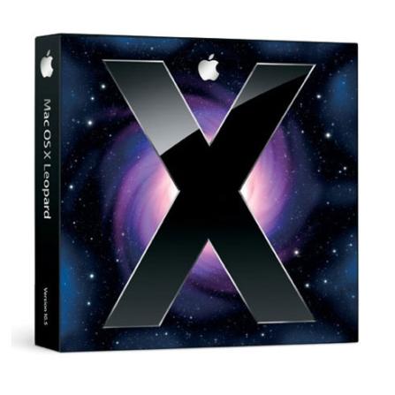 (CJ)Mac OS X 10.5.4 Leopard Family Pack - Apple - CJ577KIT