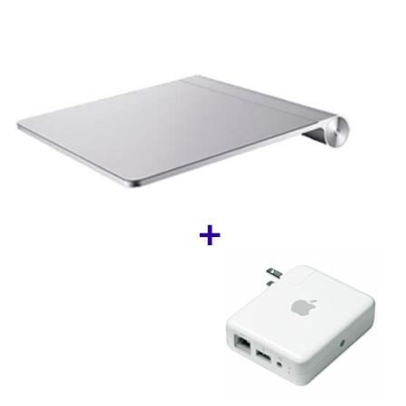 AirPort Express com Alta Velocidade de até 802.11n / Freqüência de 2.4GHz ou 5GHz / Porta USB para Ligar uma Impressora