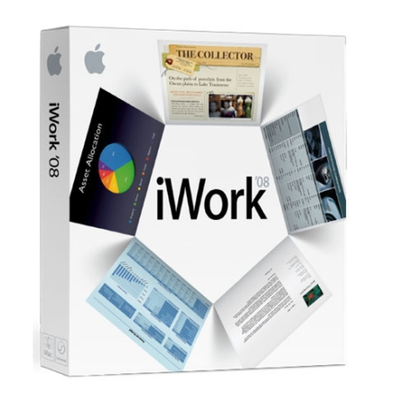 iWork '08 Retail Family Pack (5 Licencas) - Apple - MB625ZA