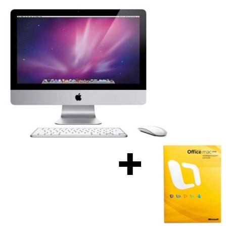 Compre iMac Core2Duo e leve junto Office Mac 2008, AP