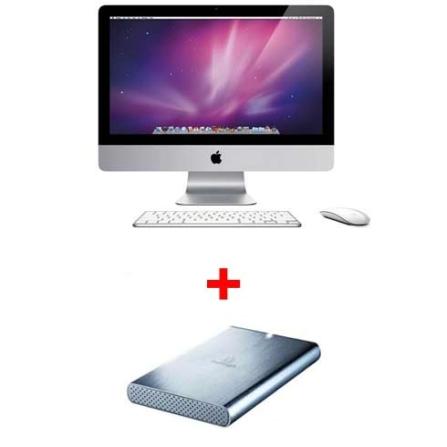 iMac Core2Duo Apple+Bolsa Targus+HD Externo Iomega, AP