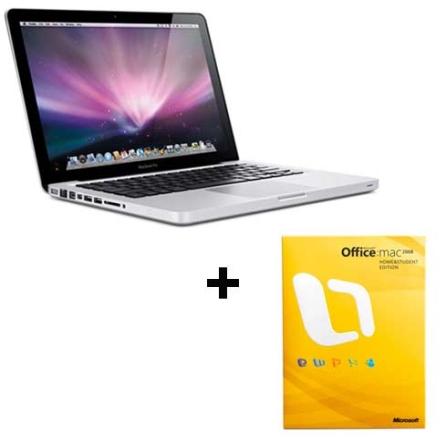 MacBook Pro com Intel® Core 2 Duo 2.53GHz / 4GB / HD 250GB / Placa Gráfica NVIDIA GeForce 9400M com 256MB / Tela 13.3 W, AP