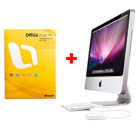 iMac com Processador Intel® Core 2 Duo 2.0 Ghz / 1GB / HD 160GB / DVD-RW / Tela de 20
