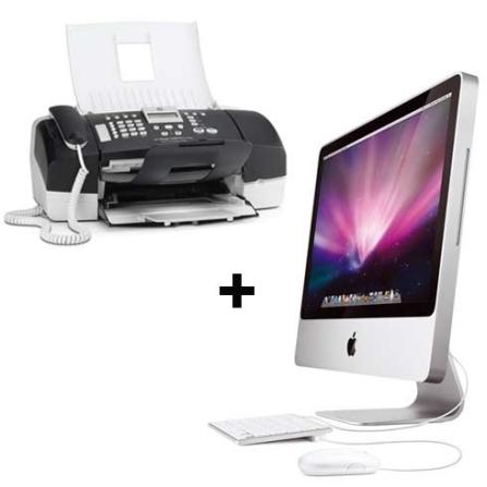iMac com Processador Intel® Core 2 Duo 2.0 Ghz / 1GB / HD 160GB / Tela de 20
