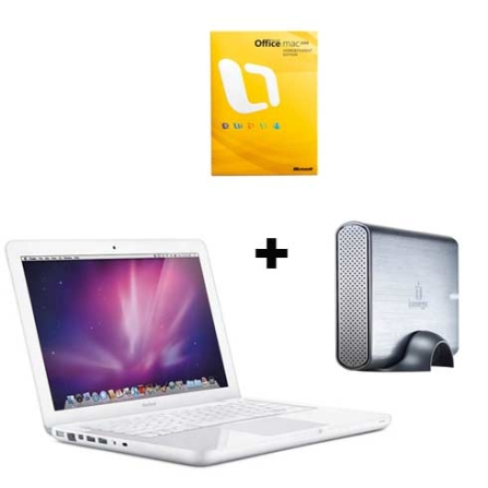 MacBook com Intel® Core 2 Duo 2.26 GHz / 2GB / HD 250GB / Placa Gráfica GeForce 9400M / 13.3