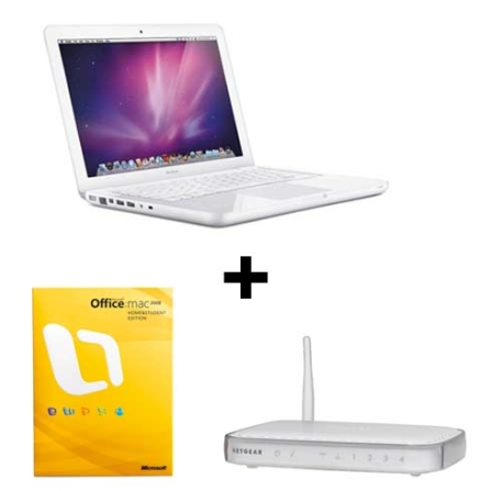 MacBook White Processador Intel® Core 2 Duo / 2GB / HD 250GB / 13.3