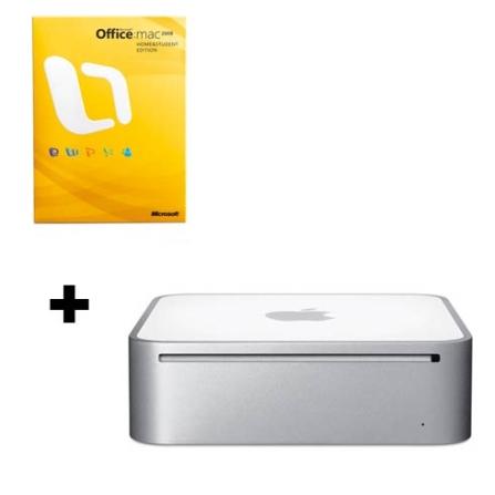Mac mini com Processador Intel® Core 2 Duo 2.53 Ghz / 4GB / HD 320GB / DVD-RW / NVIDIA GeForce 9400M / Bluetooth / Mac, AP