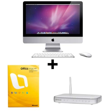 (C413)iMac com Processador Intel®Core2 Duo 3.06Ghz / 4GB / HD 1 TB / 21.5