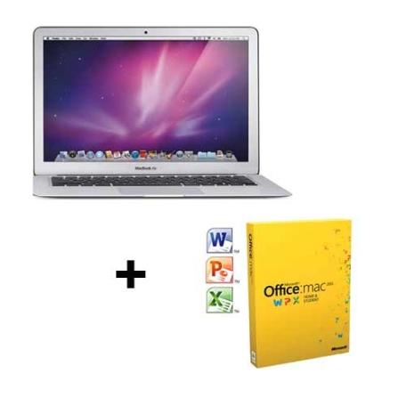 MacBook Air  MC504BZ Core 2 Duo + Office Mac