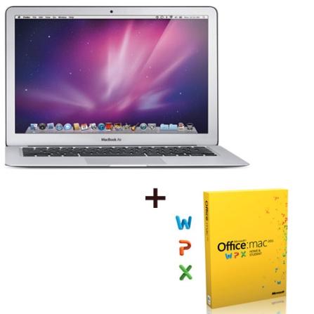 MacBook Air Core 2 Duo Apple + Office Mac 2011, AP
