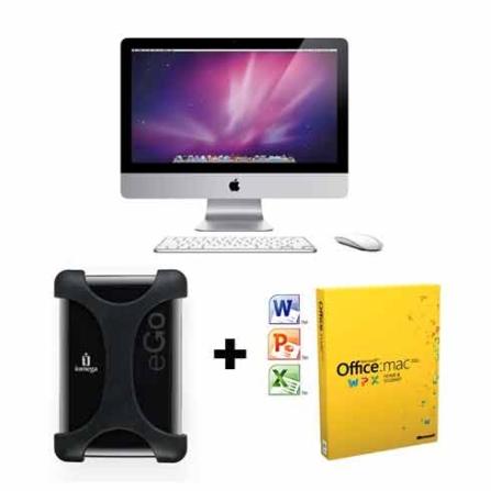 iMac com Processador Intel Core i3 / 4GB / 500GB / Tela 21.5