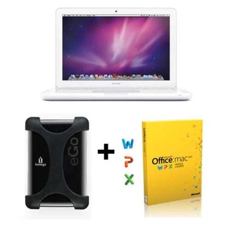 MacBook White Intel Core 2 Duo / 2GB / 250GB / Tela 13.3