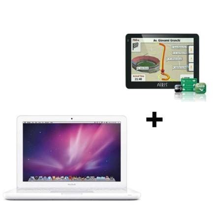 Na compra do MacBook + 99,00 leve junto GPS.