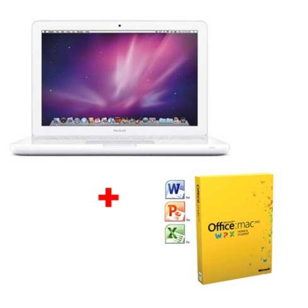 MacBook Apple + Office Mac 2011 Home&Student, AP